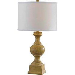 Hillage 28-inch High With Natural Wood Grain Finish Table Lamp