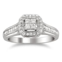 14k Gold 5/8ct TDW Diamond Composite Engagement Ring (H-I, I1-I2)