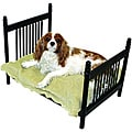 Textured Black Iron Pet Bed