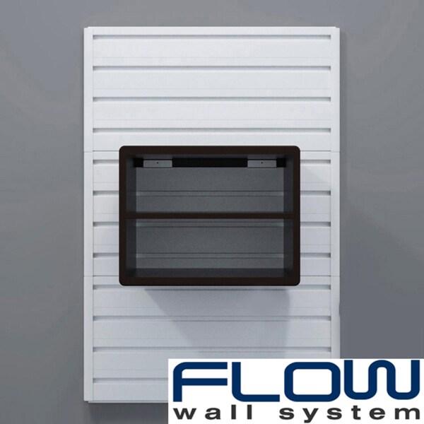 RST Espresso Flow Wall Decor Storage Cube