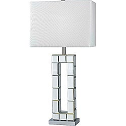 Rothery 31-inch Chrome Mirror Table Lamp