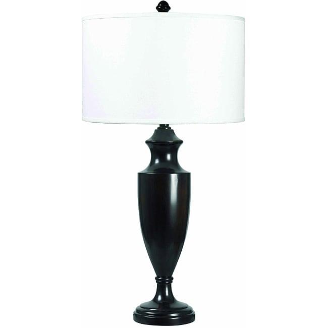 Romeo 32-inch Madera Bronze Finish Table Lamp