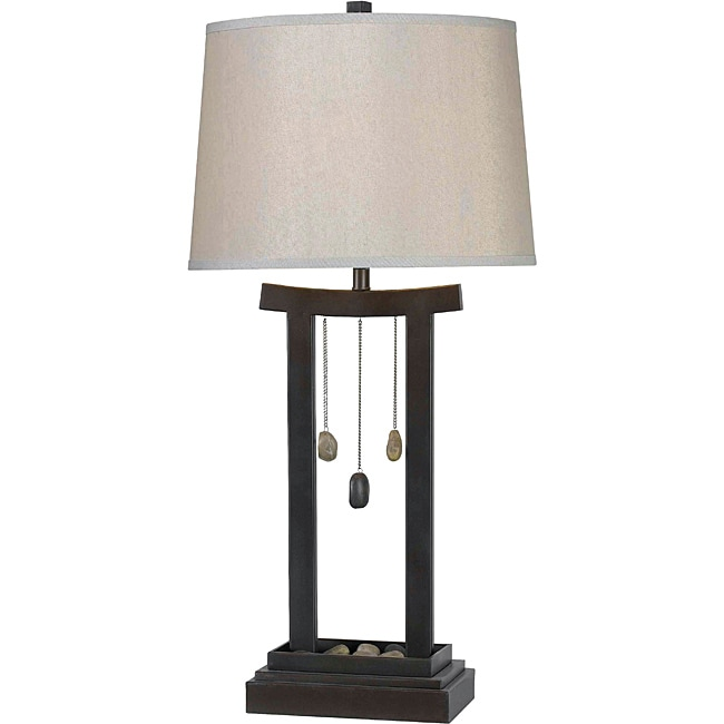 Cantrell 31-inch Copper Bronze Finish Table Lamp