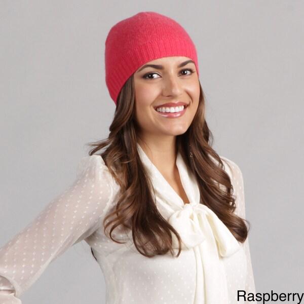 Portolano Women's Cashmere Skull Hat