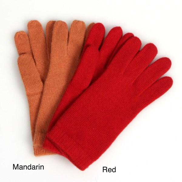 Portolano Women's 10-inch Cashmere Gloves FINAL SALE