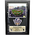 2010 World Series Rangers Ballpark Patch Frame