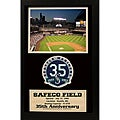 Seattle Mariners '35th Anniversary' Patch Frame
