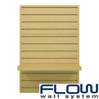 Flow Wall Decor Maple Shelf