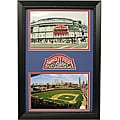 Chicago Cubs Wrigley Field Patch Frame