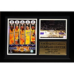 Los Angeles Lakers 2011 Photo Stat Frame