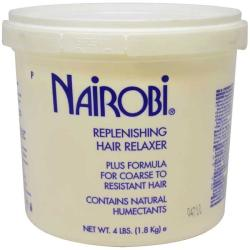 Nairobi 4-pound Replenishing Hair Relaxer for Course Hair