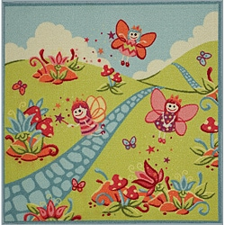 Tufted Fairyland Rug (3' x 3')