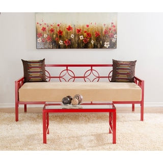 Medallion Salsa Red Twin Daybed