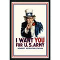 I Want You 'Uncle Sam' Gel-textured Art Print