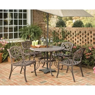 Biscayne Bronze 5-piece Dining Set