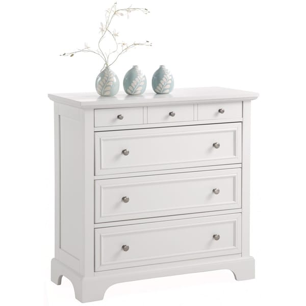 Home Styles Naples White Chest