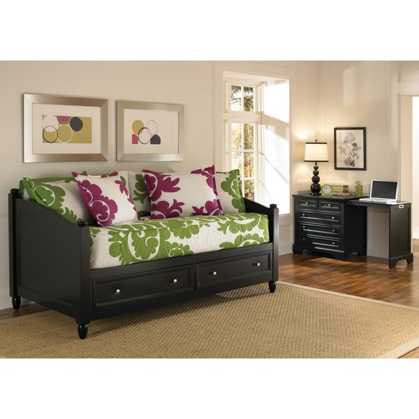 Home Styles Twin-size Bedford Daybed and Expand-a-Desk