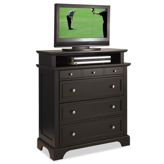 Home Styles Bedford Black TV Media Chest