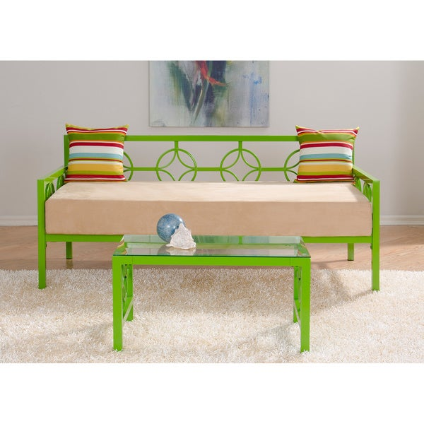 Medallion Organic Green Twin Daybed