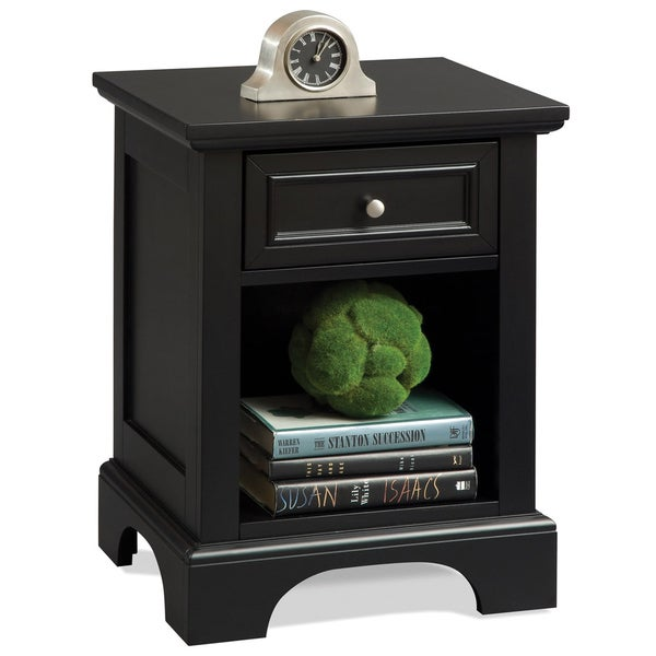 Home Styles Bedford Black Night Stand 14188279