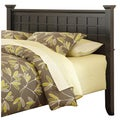 Arts and Crafts Black Queen/Full Headboard