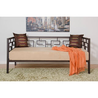 Greek Key Bronze Twin Daybed