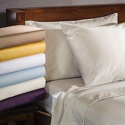 Cotton Blend 1000 Thread Count Deep Pocket Wrinkle-resistant Sheet Set