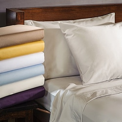 Luxor Treasures Cotton Blend 1000 Thread Count Deep Pocket Wrinkle-resistant Sheet Set