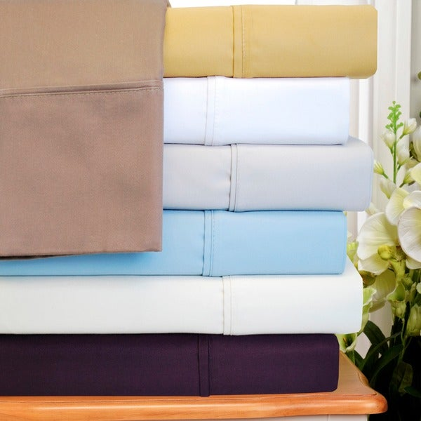 Superior Cotton Blend 1000 Thread Count Deep Pocket Wrinkle-resistant Sheet Set