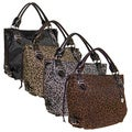 Rina Rich 'Leo Fabulous' Nylon Canvas Satchel