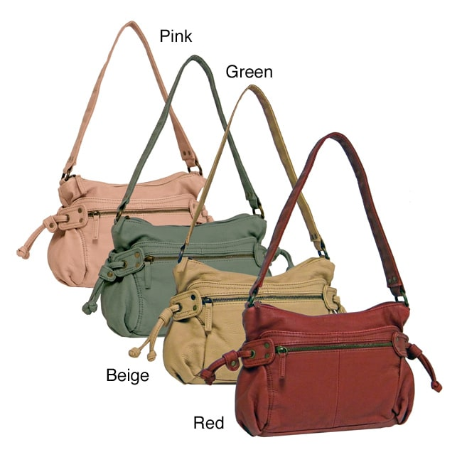 Bueno 'Belina' Faux Leather Shoulder Bag