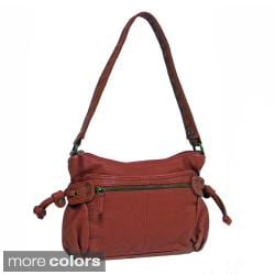 Bueno 'Belina' Faux Leather Shoulder Bag