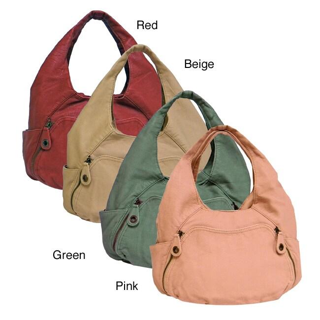 Bueno 'Abedaban' Faux Leather Hobo Bag
