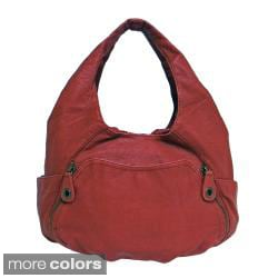 Bueno 'Abedaban' Faux Leather Hobo Bag
