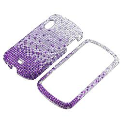 Purple Waterfall Diamond Snap-on Case for Samsung Stratosphere i405