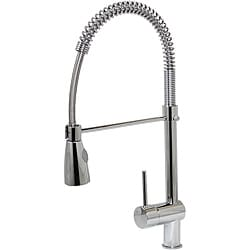 Dyconn 21-inch Contemporary Kitchen Polished Chrome Swivel Faucet
