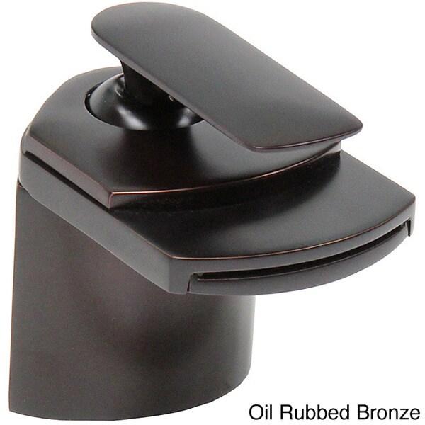 Elite 8815 Single-lever Waterfall Bathroom Sink Faucet