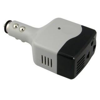 BasAcc Universal US Plug DC to AC Plug Outlet Converter Adapter