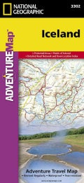 National Geographic Adventure Map Iceland (Sheet map)