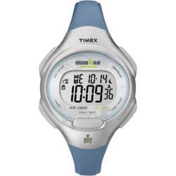 Timex Women's T5K604 Ironman Traditional 10-Lap Blue/Silvertone Watch