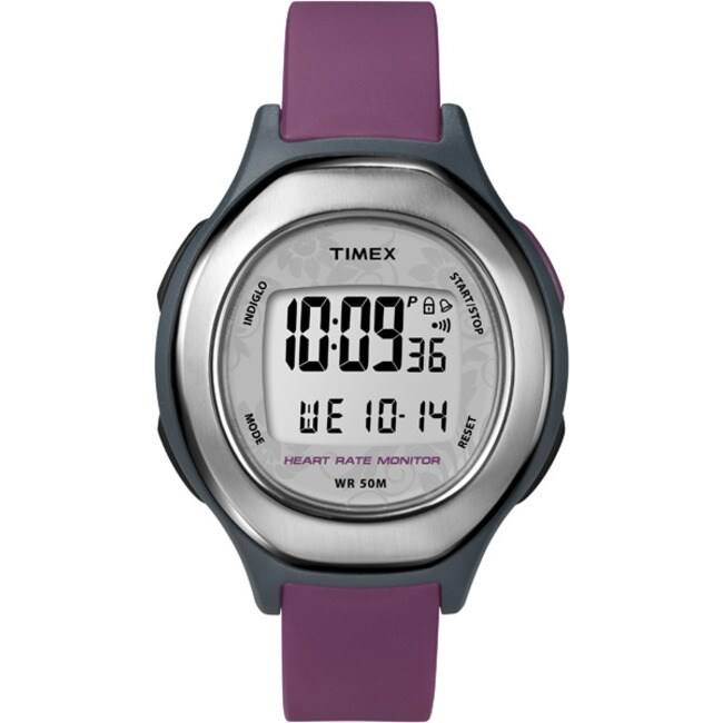 Timex Women's T5K599 Health Touch Contact Heart Rate Monitor Watch
