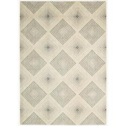Nourison Utopia Beige Abstract Rug (3'6 x 5'6)
