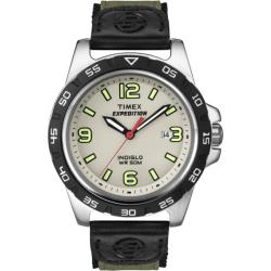 Timex Men's T49884 Expedition Rugged Metal Field Green Fabric Strap Watch