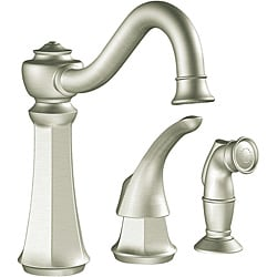 Moen 7065CSL Vestige One-Handle High Arc Classic Stainless Kitchen Faucet