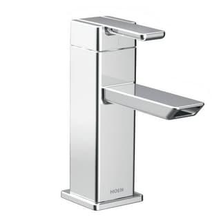 Moen S6700 90-degree One-Handle Low Arc Chrome Bathroom Faucet