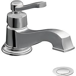 Moen S6202 Rothbury One-Handle Low Arc Chrome Bathroom Faucet