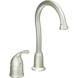 Moen 4905CSL Camerist One-Handle Classic Stainless High Arc Bar Faucet
