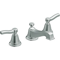Moen TS6205 Rothbury Two-Handle Chrome Low Arc Bathroom Faucet