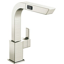 Moen 90-degree High Arc Pullout Classic Stainless Kitchen Faucet