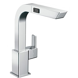 Moen 90-degree High Arc Pullout Chrome Kitchen Faucet